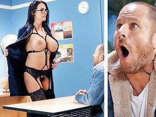 X teacher hardcore fucks schoolboy at teacher