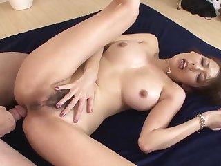 Akari Asagiri astounding mommy sex act with four makes  - More at 69avs com
