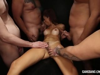 5 folks respecting ultra-kinky mummy internal cumshot gang-bang coupled with several facials sex glaze