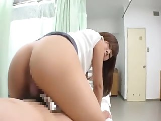 Japanese hospital visitor pretty girl is fucked by eldritch patient