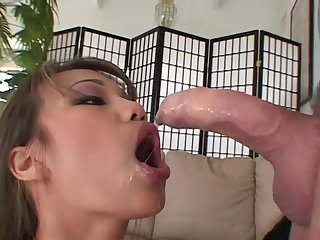 Lucy Thai get fucked in wet pussy by huge cock