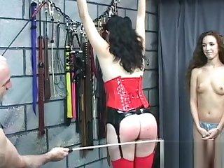 Top notch amateur servitude sex scenes concerning fine girl