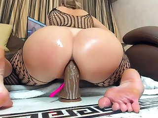 anal acrobat riding added to squirting
