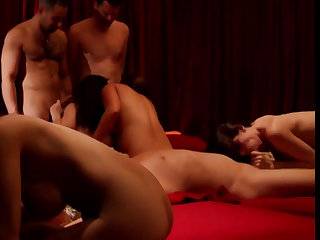 Babe loves to fuck to the fore of her man