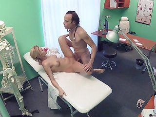 Erotic fantasy caught on cam between the bastardize and the supervision look after