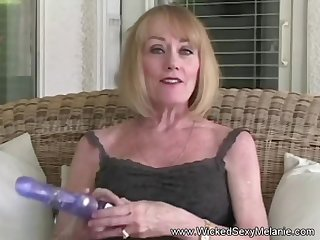Homemade masturbation and blowjob from Wicked Sexy Melanie.