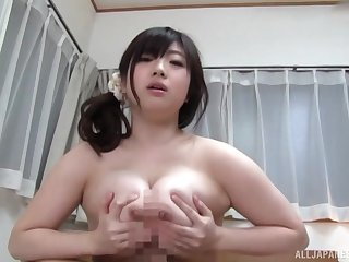 Busty Japanese loads thousands of penis in her heavy cunt