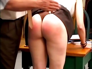 Ashley Pratt Is A Brat coupled with xeverely spanked coupled with buttpluged