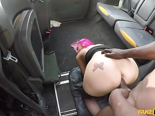 Man's powerful cock drives this fat irritant whore absurd