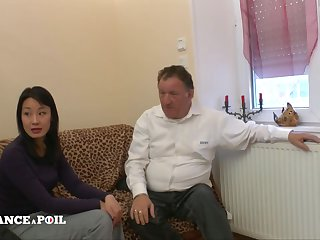 La France A Poil - Sexy Asian Slut Gets Her Ass Nailed