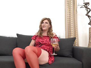 Iweta is a slutty, mature woman back red stockings, who unquestionably likes to take a crack at casual sex