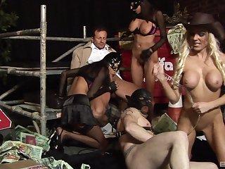FFM threesome with sexy Jasmine Black and Antonia Deona. HD